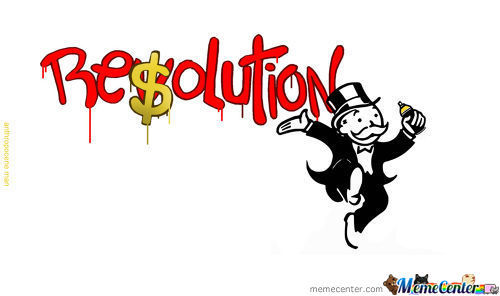 Revolution To Re$Olution