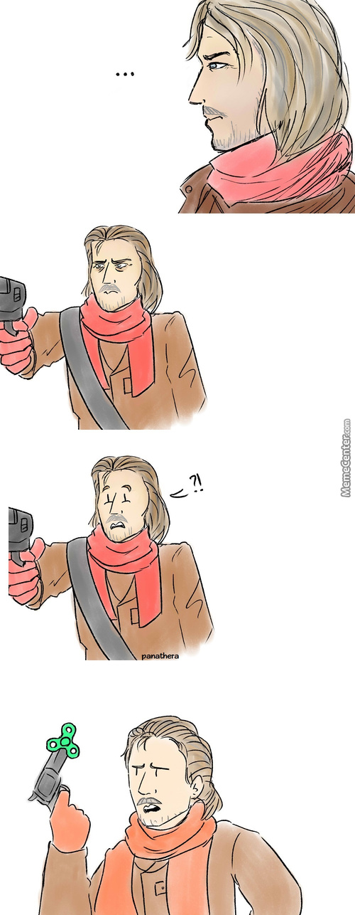"Revolver ""fidget Spinner"" Ocelot (Credit To Anth For The Idea)"