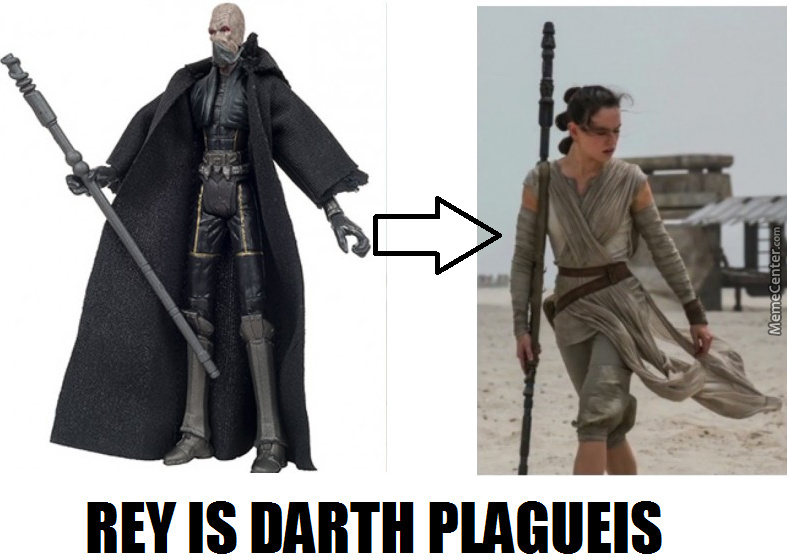 Rey Is Darth Plagueis