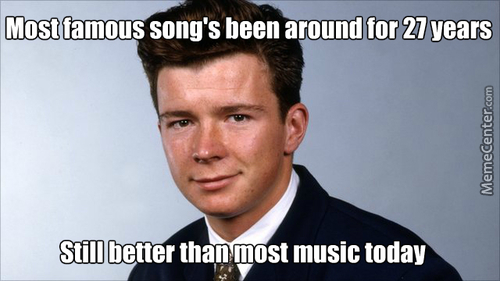 Rick Astley Is A Mother F***ng Tank