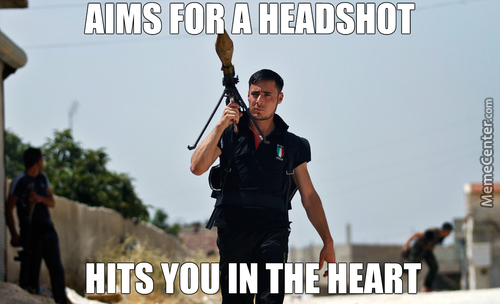Ridiculously Photogenic Syrian Rebel