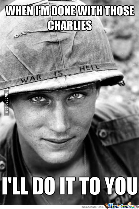 Ridiculously Photogenic Vietnam Soldier