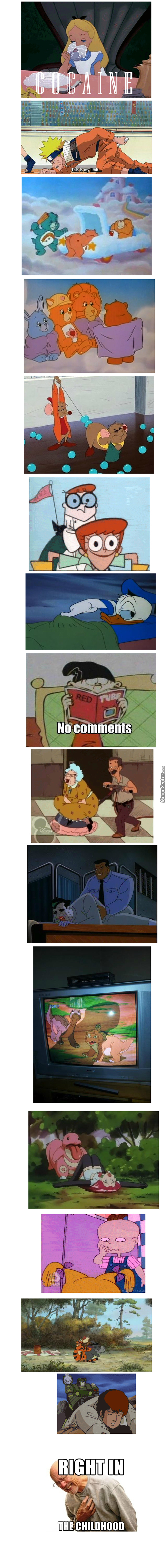Right In The Childhood! Cartoons