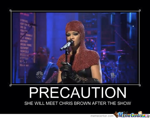 Rihanna Will Meet Chris Brown After The Show