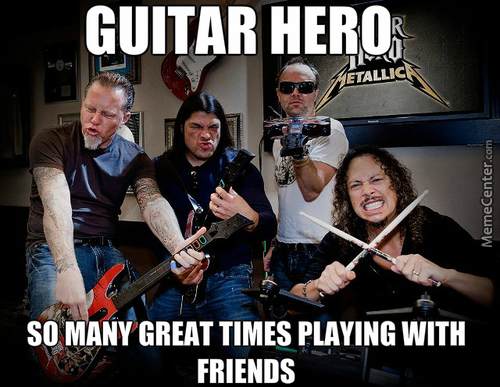 Rip Guitar Hero, I Miss You :(