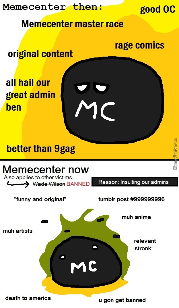 Rip Memecenter (I Am Not Leaving This Site)