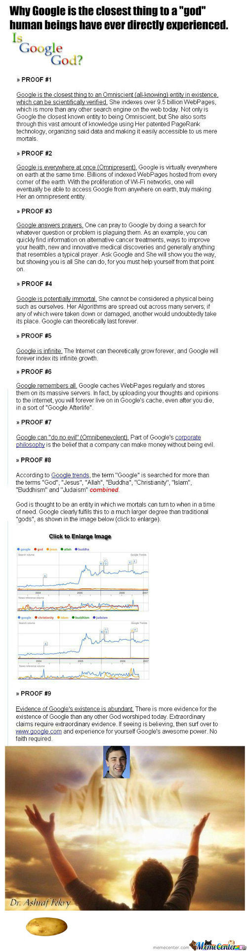 [RMX] 9 Thing Why Google Is Better That God
