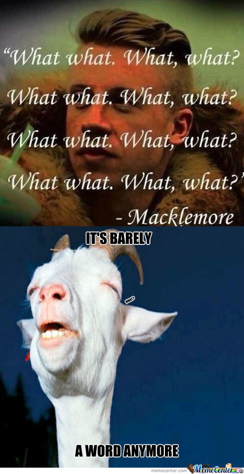[RMX] A Inspirational Quote From Macklemore