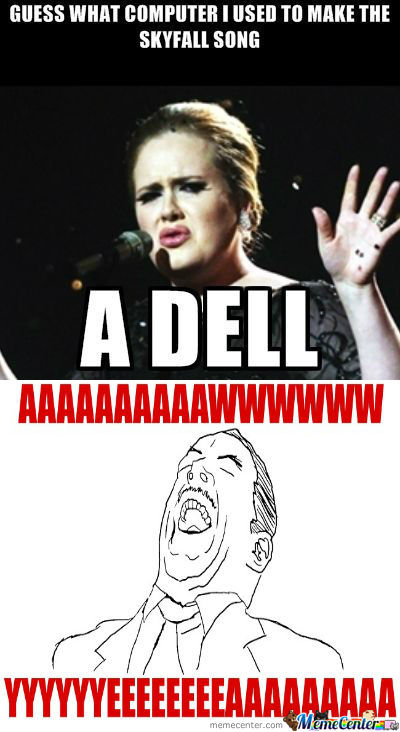 [RMX] Adele Makes A Funny.