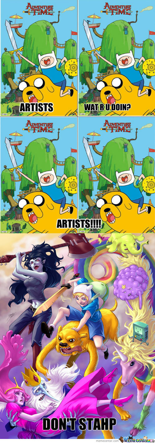[RMX] Adventure Time Stahp