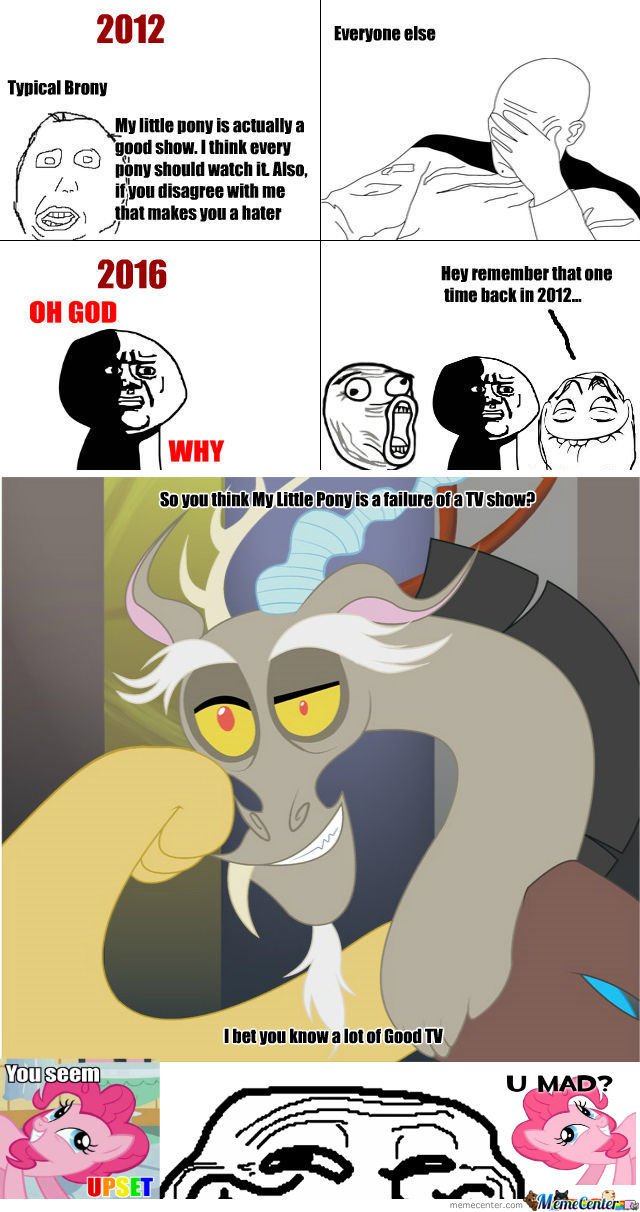 [RMX] All Bronies Will Regret What They've Done In 4 Or Less Years