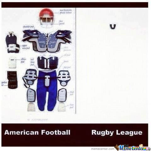 [RMX] American Football Vs Rugby