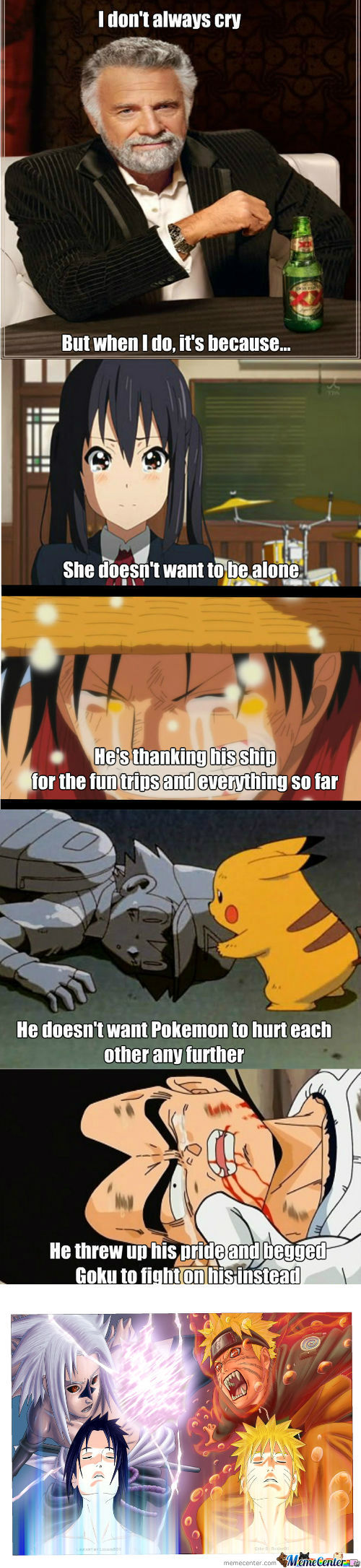 [RMX] Anime Is The Only Thing That Can Make A Real Man Cry!