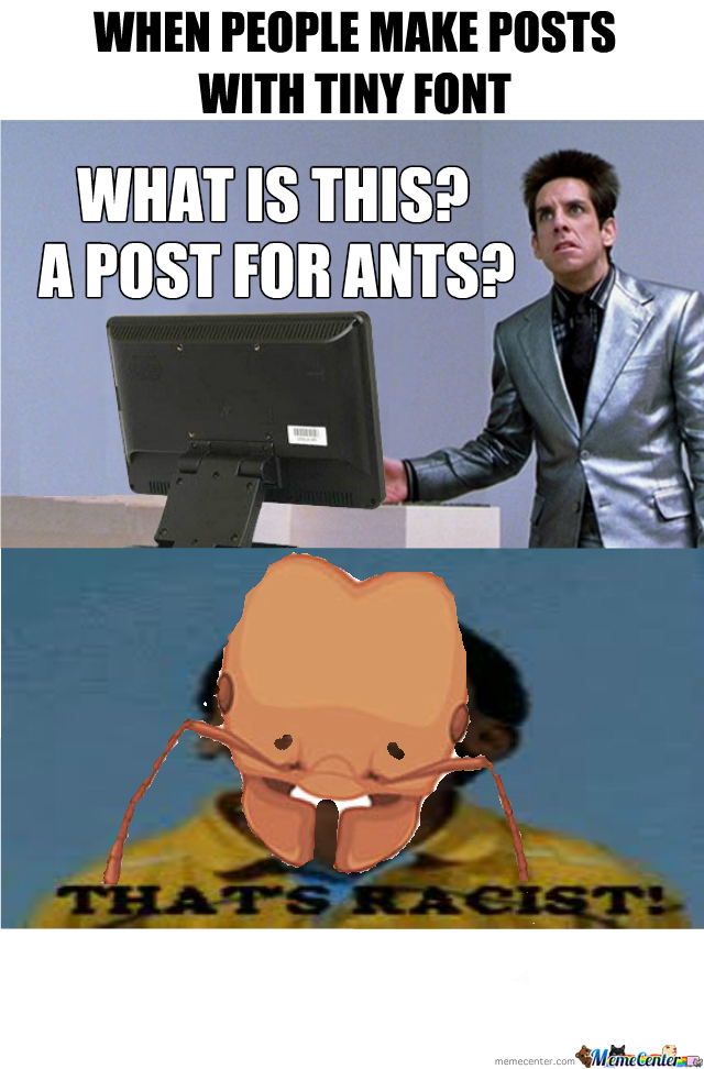 [RMX] Are Ants Supposed To Read This?