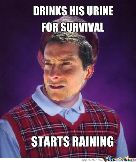 [RMX] Bad Luck Brian Drinks His Urine For Survival
