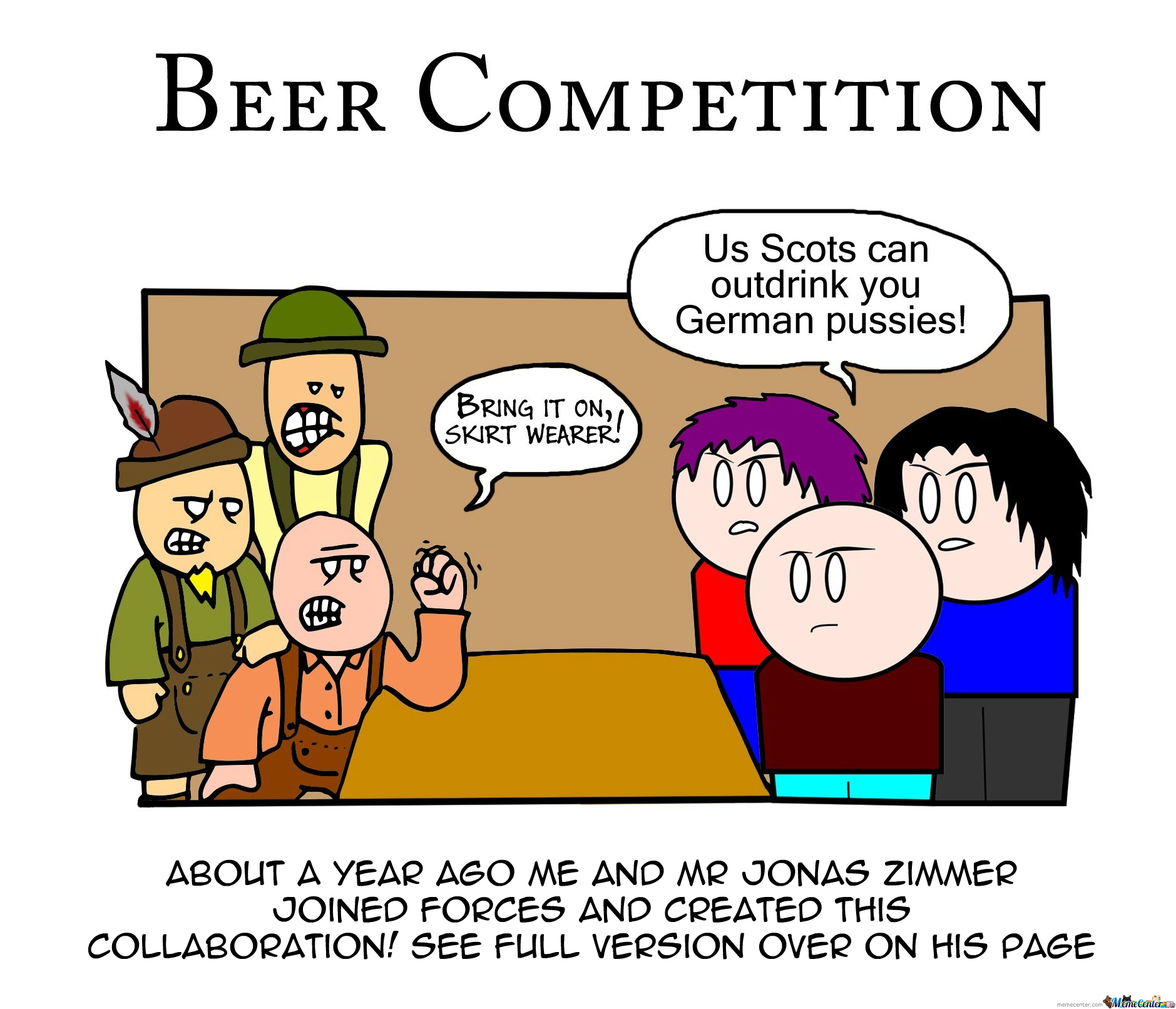 [RMX] Beer Competition (Starring Sparky Doodles Comics)