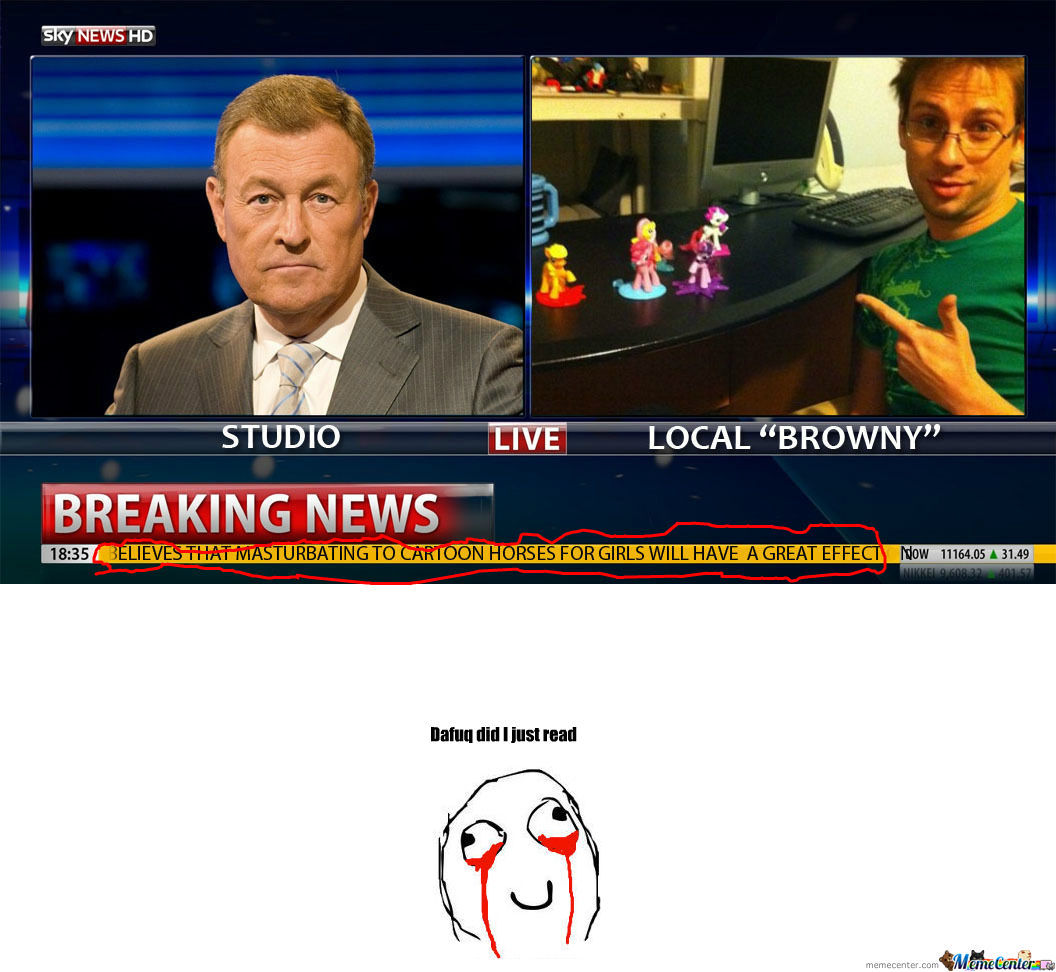 [RMX] Breaking News: Local Browny