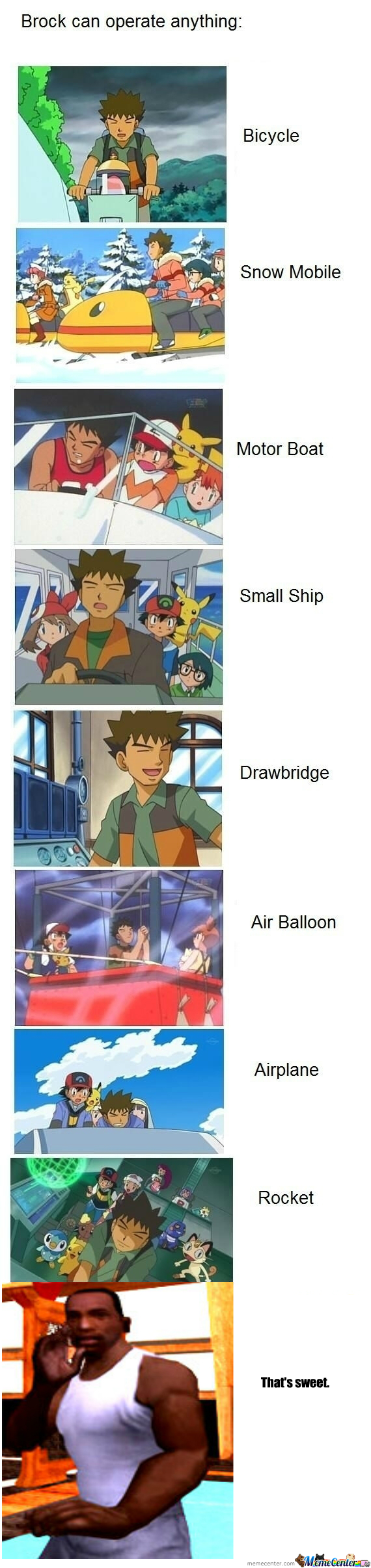 [RMX] Brock Can Operate Anything...except Women