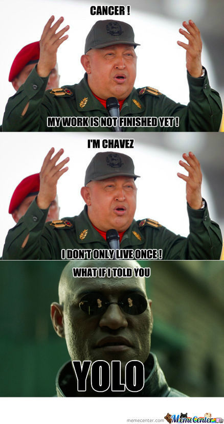 [RMX] Chavez, Not Even Once