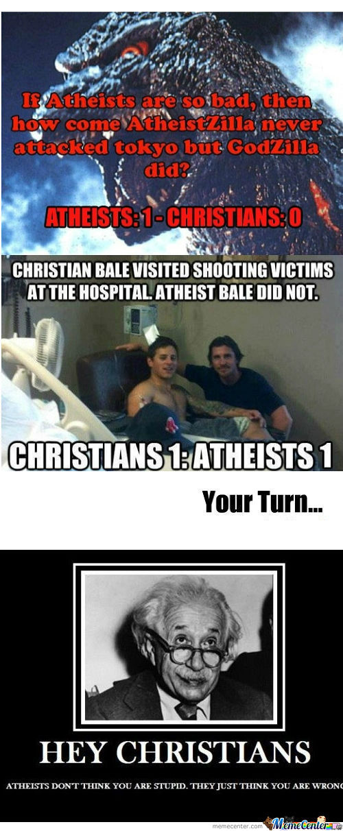rmx christians vs atheist_o_890839 rmx] christians vs atheist by recyclebin meme center