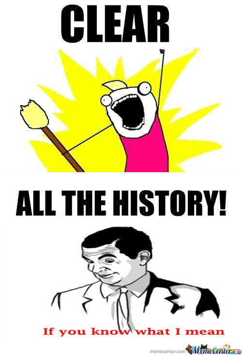 [RMX] Clear All The History!