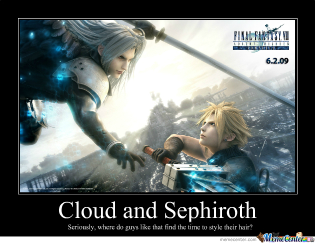 [RMX] Cloud And Sephiroth