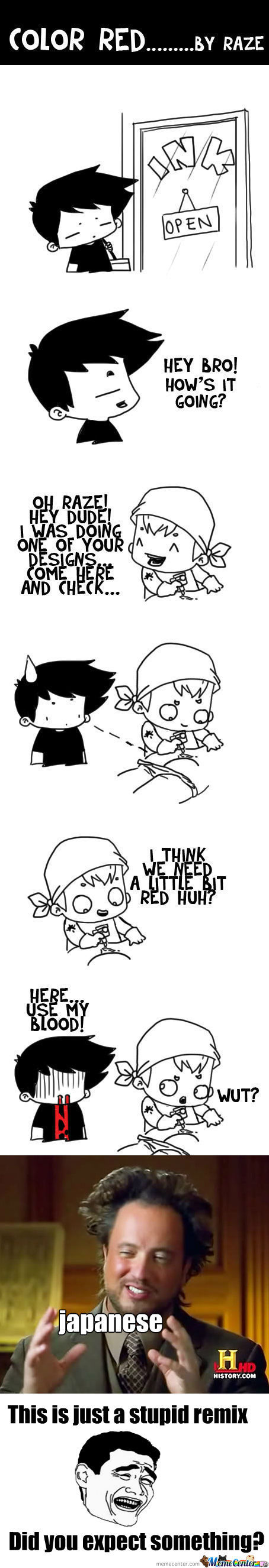 [RMX] Color Red