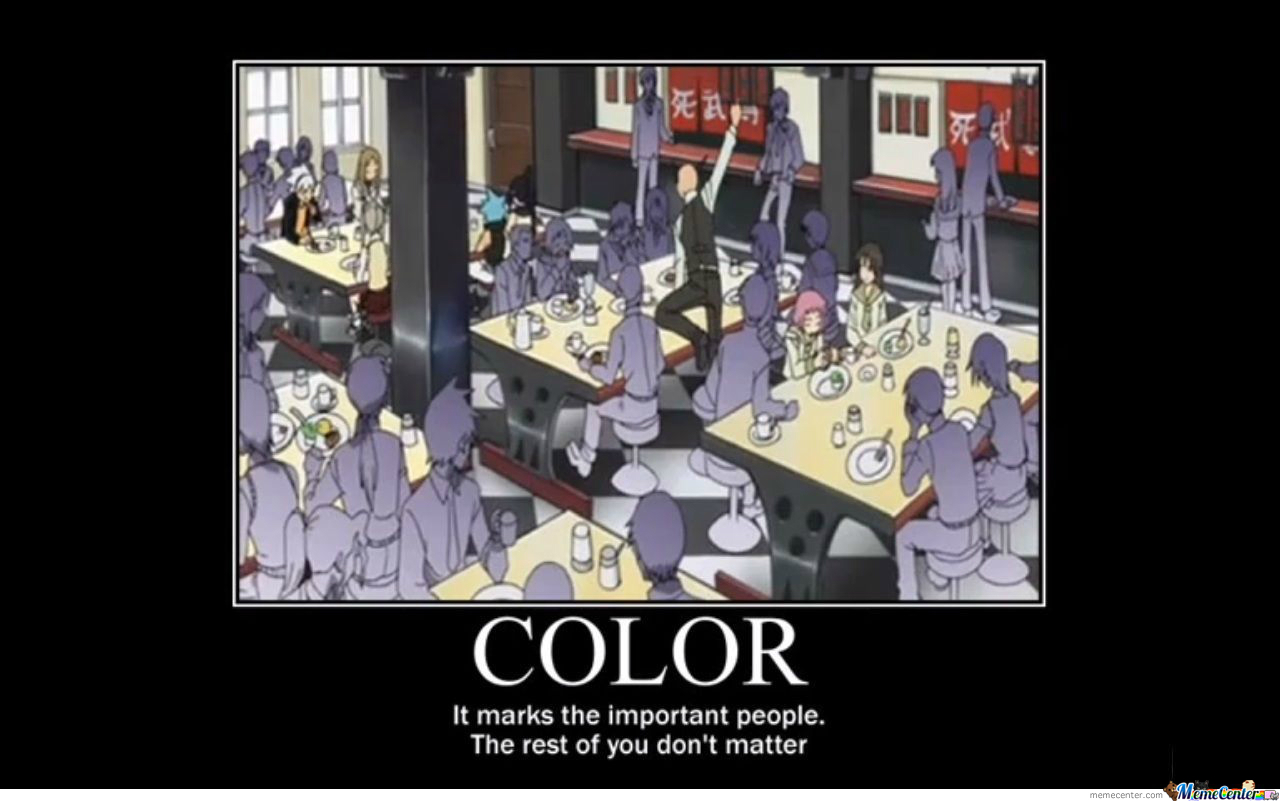 [RMX] Colors. They Matter.
