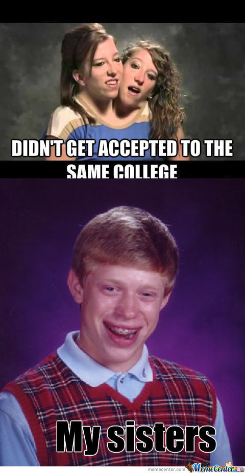 getting accepted into college