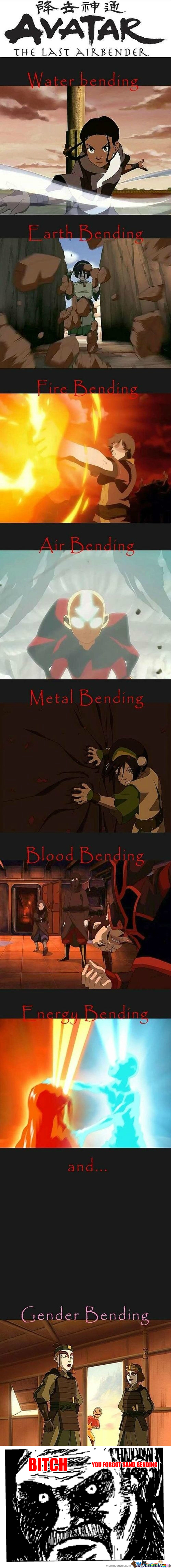 [RMX] Different Types Of Bending In Avatar.