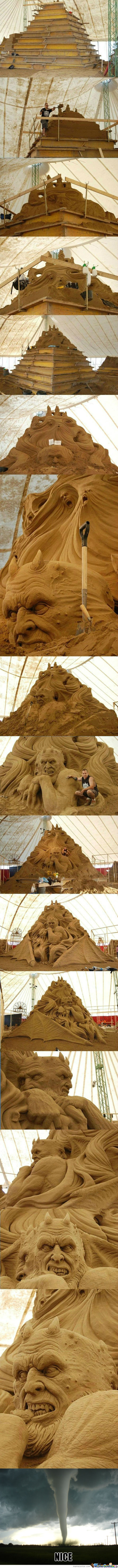 [Rmx] Epic Sand Sculpture