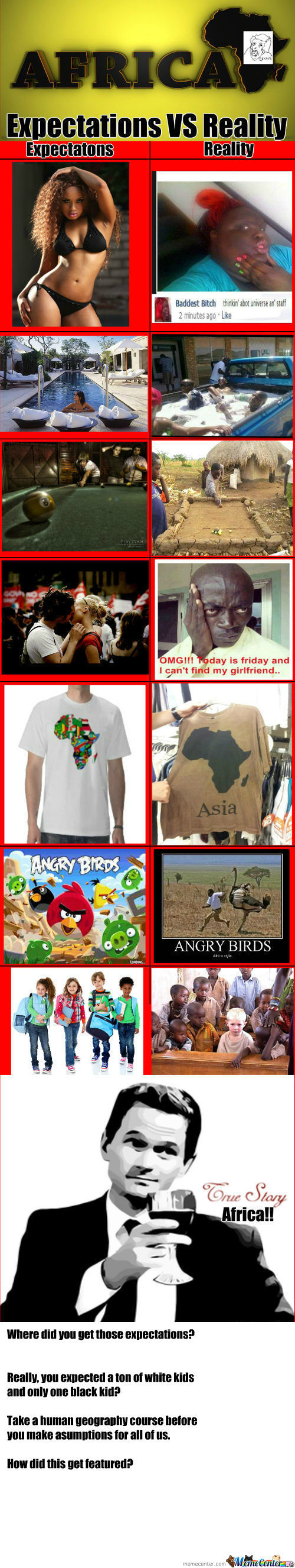 [RMX] Expectations Vs Reality Africa!!!