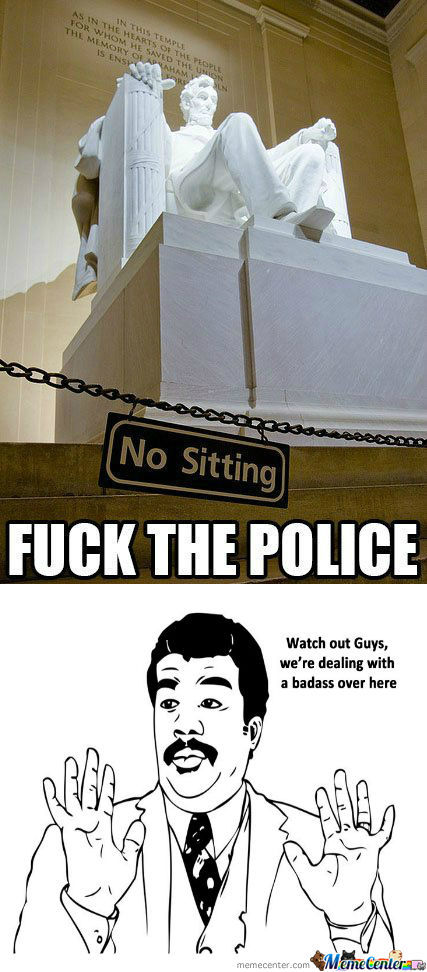 [RMX] F**k The Police, I'M Sitting Here.