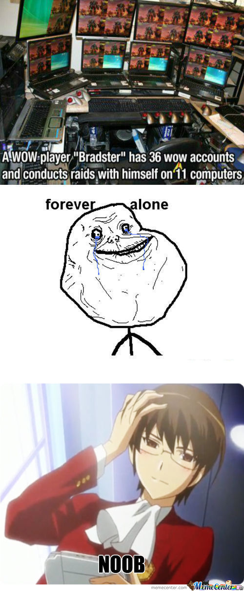 [RMX] Forever Alone Level Is Over 9000!!1!one!