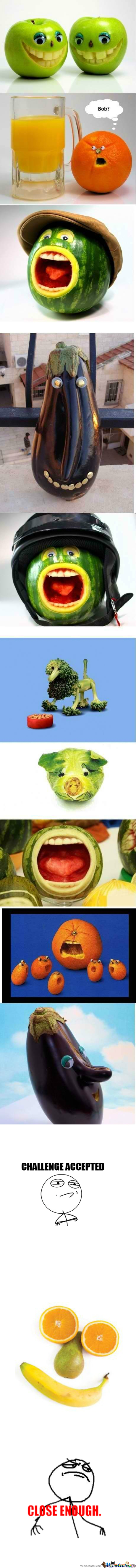 [RMX] Funny Fruits And Vegetables!...