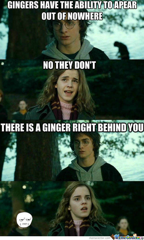 [RMX] Gingers Have Magical Powers!