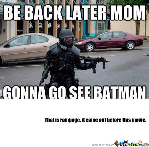 [RMX] Going To See Batman Movie