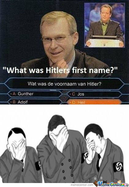 [RMX] Hitlers First Name