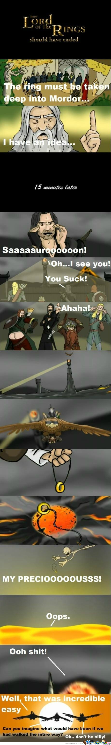 [RMX] How Lord Of The Rings Should Have Ended