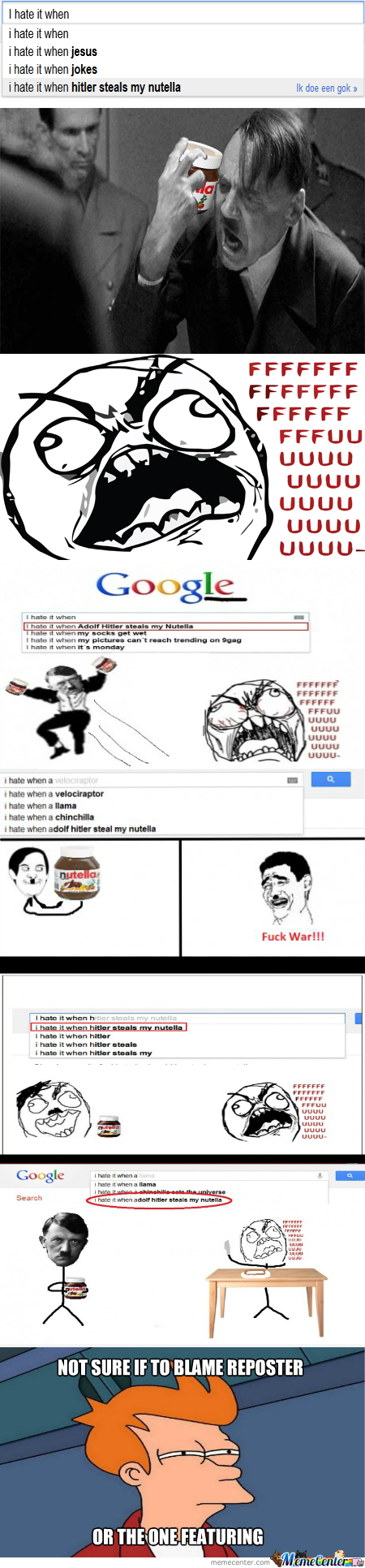 [RMX] I Hate It When Hitler Steals My Nutella