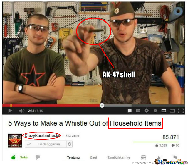 [RMX] In Russia Is An Ak-47 Shell A Household Item