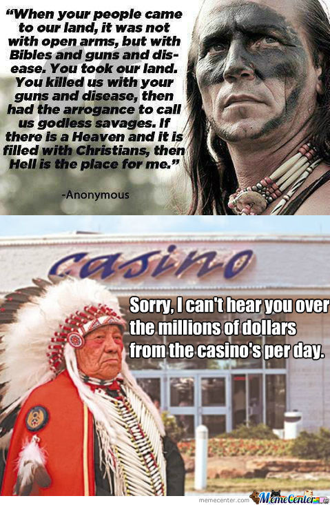 [RMX] Just Something To Think About. I'm Not Native But Some Of My Friends Are