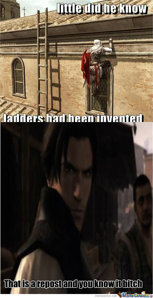 [RMX] Ladders ? What Are Those ?