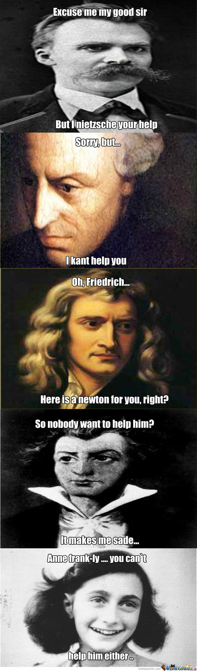[RMX] Lame Puns From Philosophers.