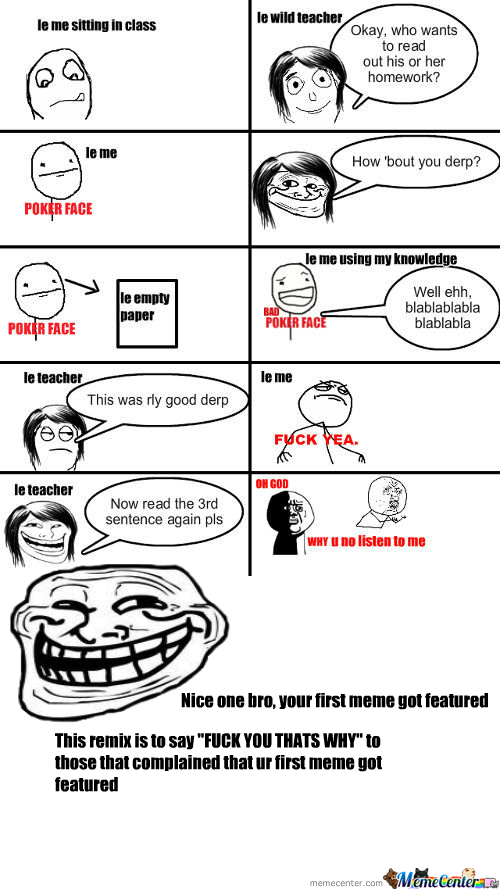 [RMX] Le Troll Teacher...