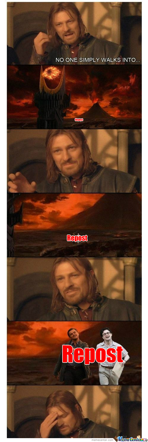 [RMX] Leo And Harry Can Walk Into Mordor