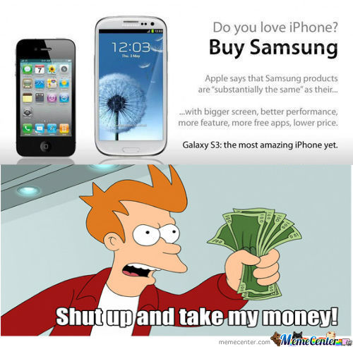 [RMX] Love Iphone? Buy Samsung!