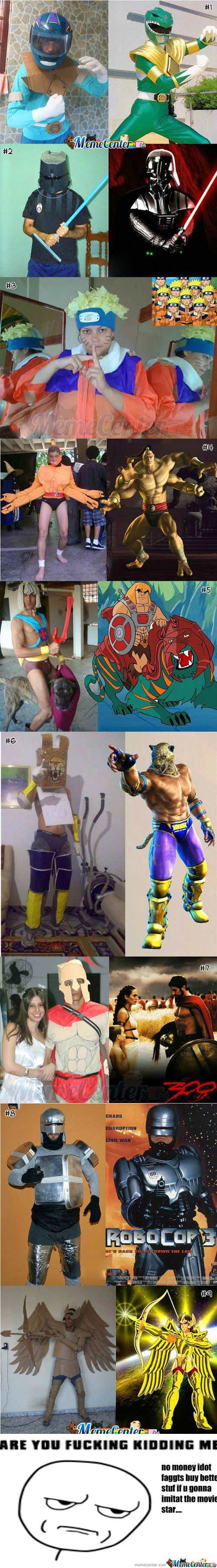 [RMX] Low Budget, Creative Cosplay : Part 1