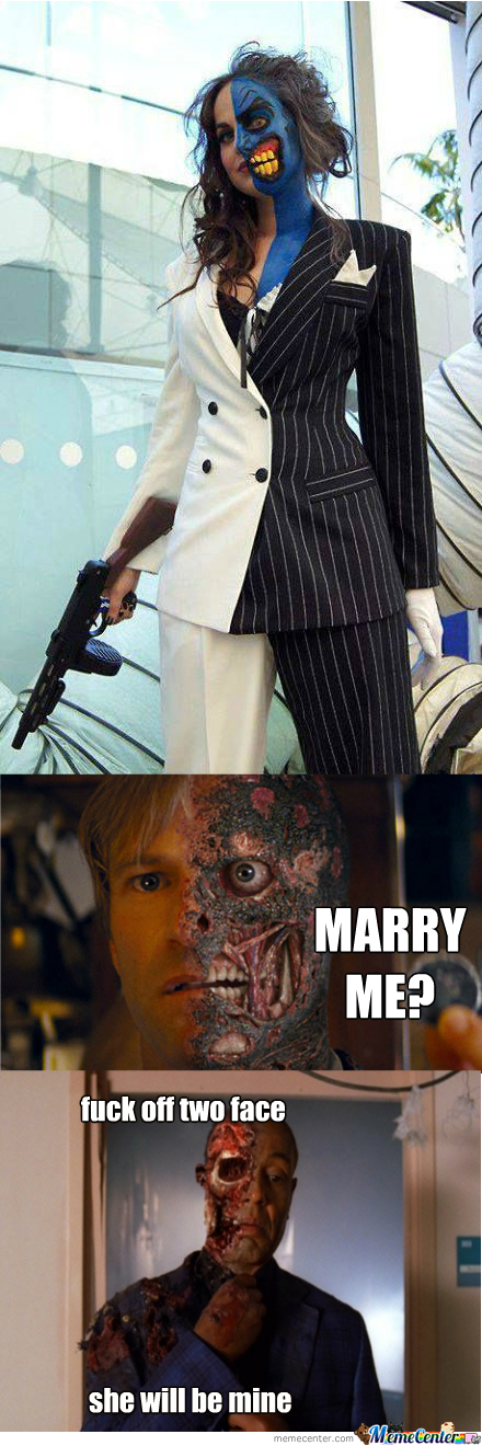 [RMX] Male Or Female, This Is The Best Two Face Cosplay Ive Ever Seen