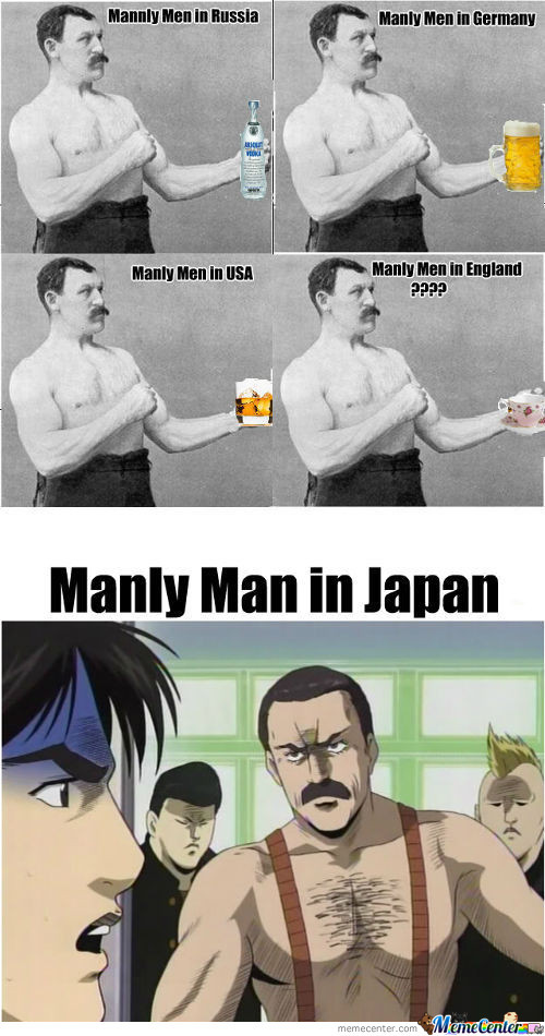 [RMX] Manly Men Around The World